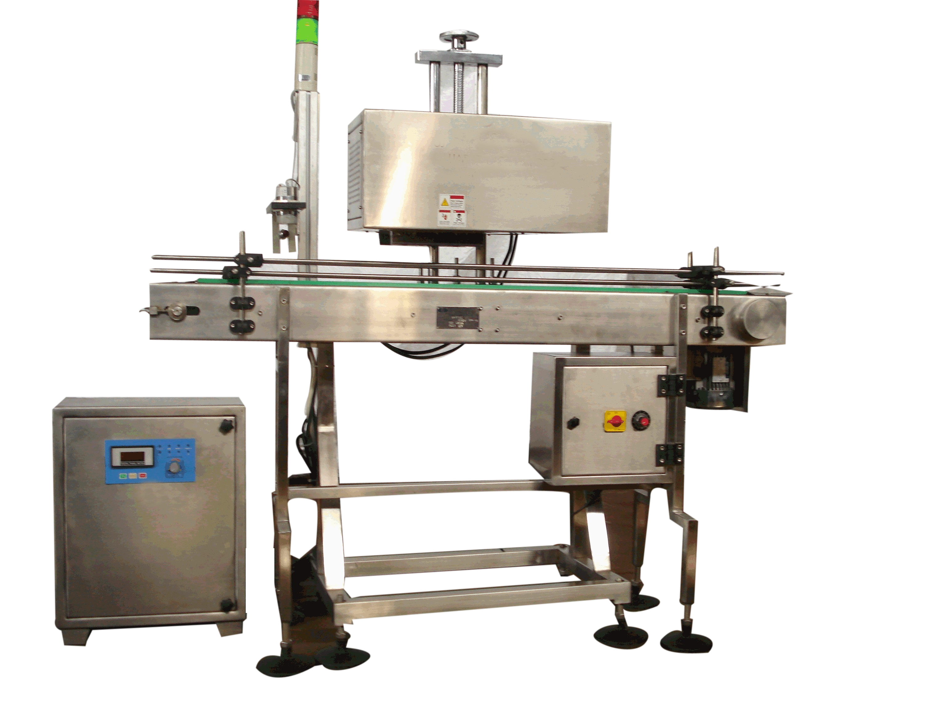 Online Induction Cap Sealing Machine (Air & Water Cooled